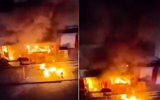河南林州市一小旅館發生火災 至少2死4傷