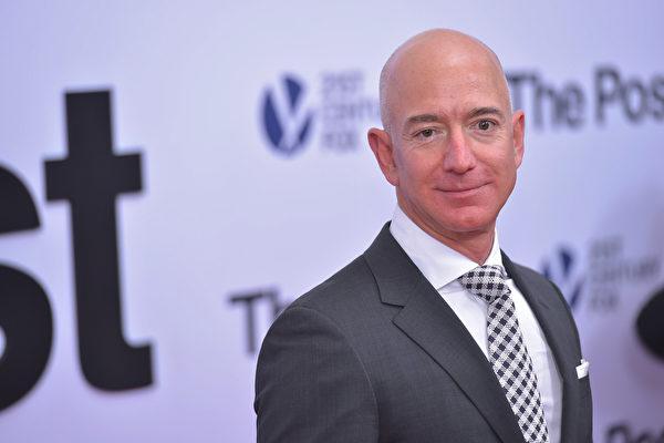 亚马逊创办人贝佐斯将离任CEO