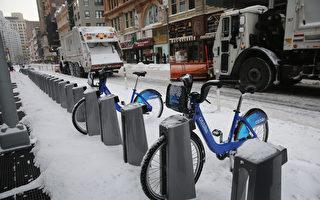 纽约市新交通局长 拟建一万自行车停车柱