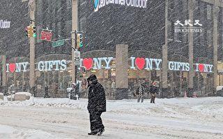黃曆新年將至 紐約本週迎多場降雪