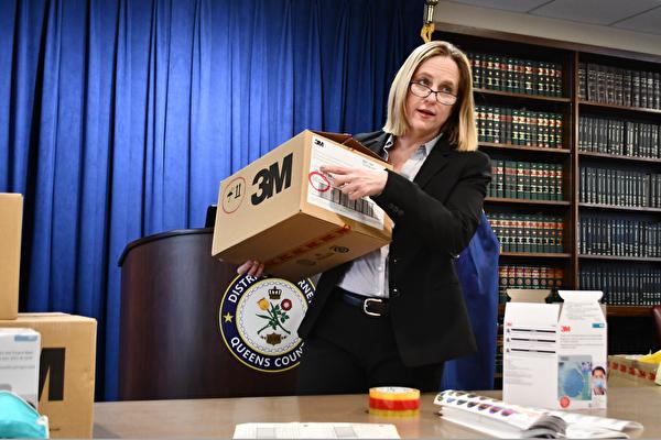 紐約查獲170萬假冒N95口罩 涉案嫌犯被捕
