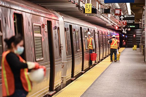 紐約地鐵凌晨停駛時間縮短至兩小時