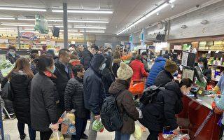 纽约华社餐馆超市 冰火两重天