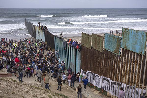 新移民法案被指將使非法移民氾濫成災
