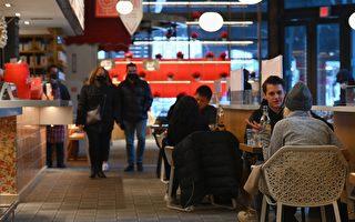纽约市堂食客容量 元宵节扩大至35%