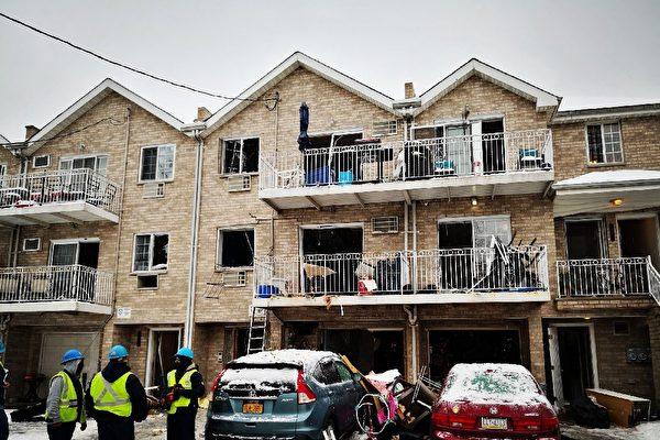 布朗士房屋气爆 一儿童重伤 十人受伤