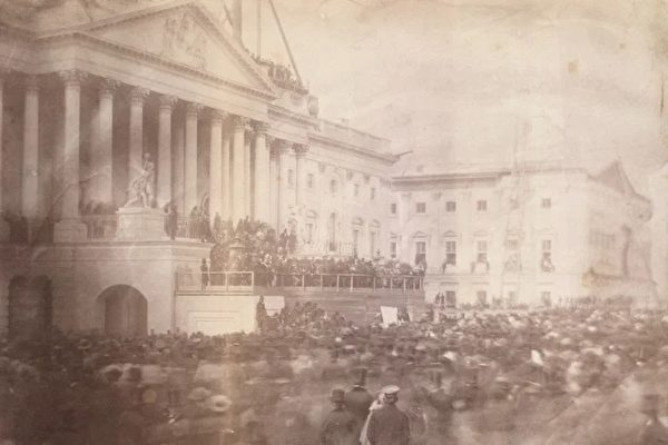 最古老的美國總統就職典禮照片 攝於1857年