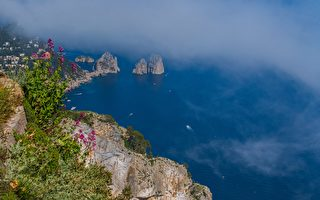 阿馬爾菲海岸線美景美食(7)美麗的卡普里島