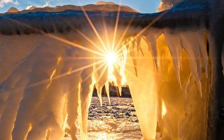 大自然的神工鬼斧 – 冬天的安大略湖(上)