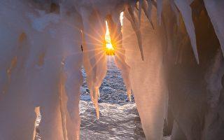 大自然的神工鬼斧 – 冬天的安大略湖(下)