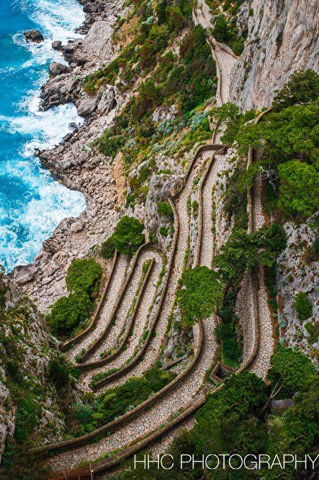 卡普里島, 行行攝攝看世界, 義大利, 阿馬爾菲海岸線, 周海倫
