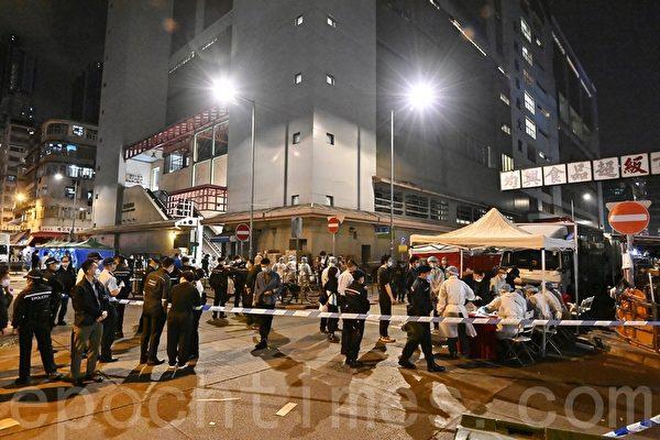 香港机场员工被列强制检测范围