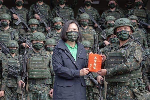 共機新年頻擾台 蔡英文:國軍隨時保持戰備