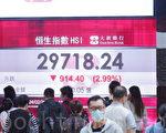 受中共打壓 香港股市成全球科技股最大輸家