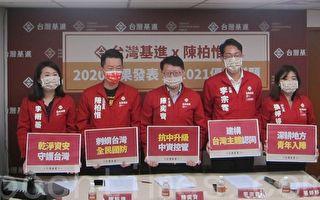 台基进党:需通过国安相关立法 防堵中共渗透