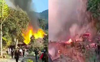 大年初三 中国大陆最后的原始部落村寨着火