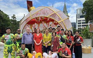 Parramatta市舞獅慶新年 多位議員到場祝賀