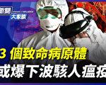 【新闻大家谈】3致命病原体 或爆下波骇人瘟疫