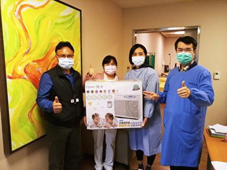桃園療養院全面再升級,減少病毒經由環境及空氣傳播,提供到院就醫民眾安心、舒適的就醫優質環境。
