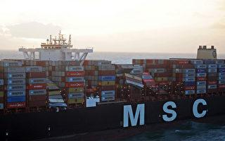 歐洲海運巨頭再傳貨櫃落海意外
