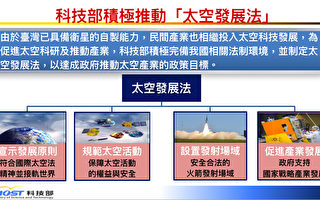 台政院拍板首部「太空發展法」列優先法案