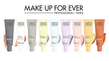 使用妝前乳時,可針對年齡、膚況、季節、活動場合等來挑選顏色。