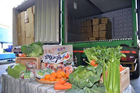 雲林20公噸蔬果外銷星馬,包括高麗菜、紅蘿蔔、西洋芹及茂谷柑等。