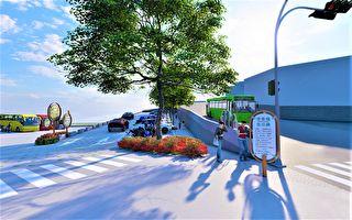 鳌峰山公园待完善  新建停车场公厕开工