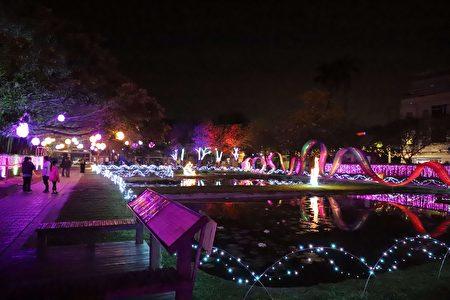 水道頭文化園區, 在主視覺設計上,以水道頭的「水」融合燈會原鄉的「光」!
