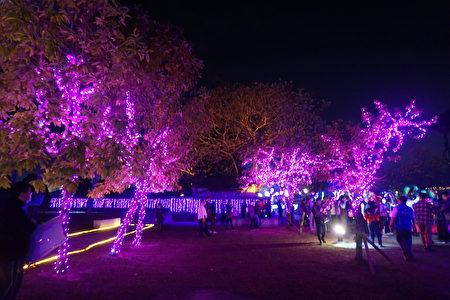 水道頭文化園區內的花燈,璀璨光耀!