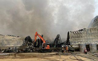 大園物流倉儲火警濃煙直衝  環保局加重處分