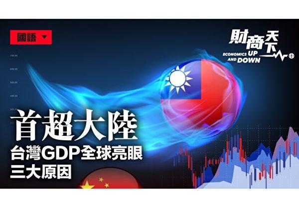 【財商天下】首超大陸 台灣GDP全球亮眼三原因