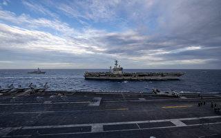 沈舟:美軍雙航母再聚南海繼續強勢威懾