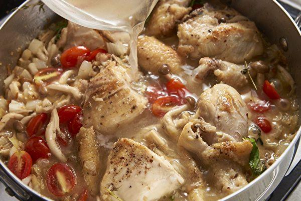 【地中海炖汤】番茄鲜蕈炖鸡肉