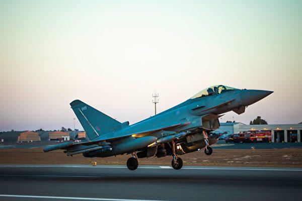 英军战机空袭伊拉克洞穴 准确歼灭IS成员