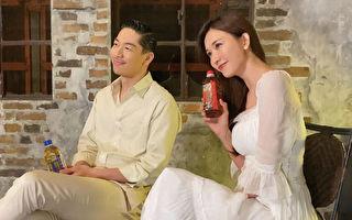 林志玲夫妇首度合体代言 AKIRA全程中文应答