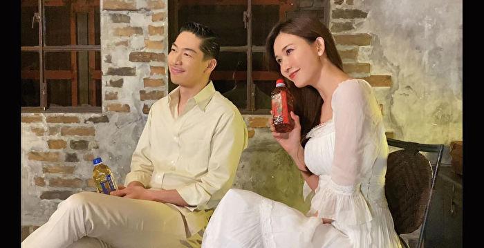 林志玲夫婦首度合體代言 AKIRA全程中文應答