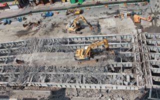 中博高架拆桥工程超前 第2天估达20%