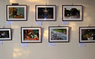 台湾学生古典绘画日本大阪出展 观众如潮