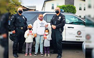 居民新衣被盗陷困境 洛杉矶警员及时伸援手