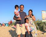 感恩大法 印裔高级工程師一家人走入修煉