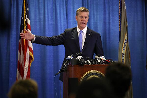 即将离任检察官:旧金山腐败案调查将继续