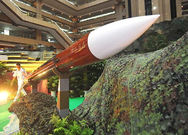 台湾的天弓3型防空导弹。(Patrick Lin/AFP via Getty Images)