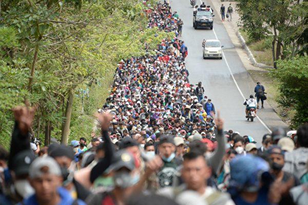 拜登政府暂停川普与中美洲三国的庇护协议