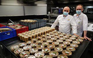 組圖:法國米其林廚師為學生製作免費餐點