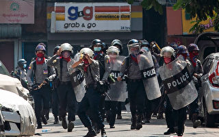 缅甸警方镇压最血腥一天 至少7死
