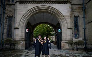 中国学生申请入读英国大学 人数增加21%。