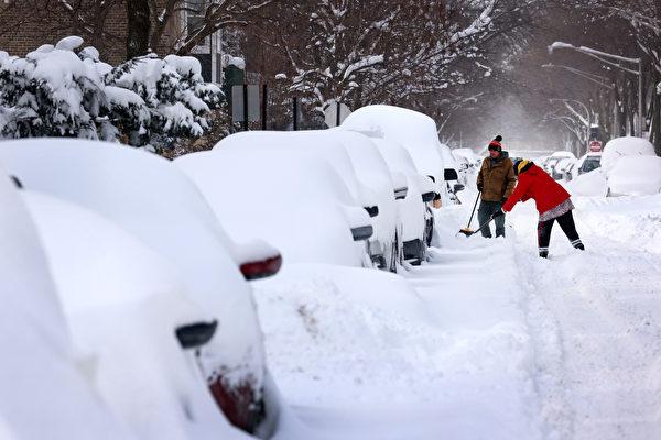冬季大风暴来袭 美西多州面临大雪或暴雨