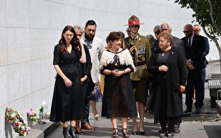 組圖:基督城大地震十周年 紐總理出席致哀