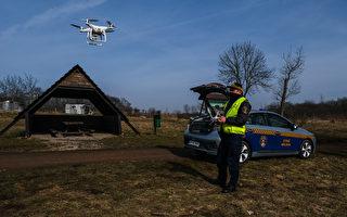 組圖:波蘭克拉科夫用無人機監測空氣質量